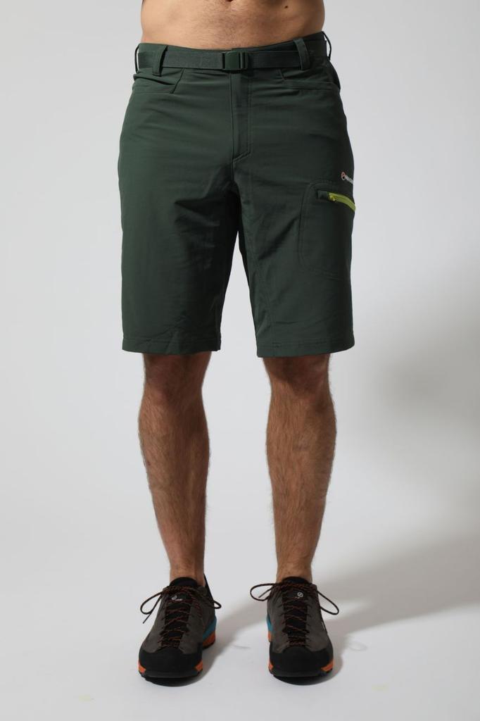 DYNO STRETCH SHORTS-ARBOR GREEN-M pánské kraťasy zelené