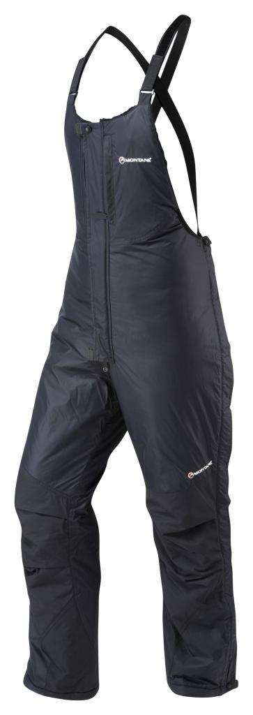 EXTREME SALOPETTES-REG LEG-BLACK-M pánská kalhoty černá