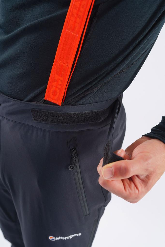 GRADIENT PANTS - REG LEG-BLACK-M pánské kalhoty černé