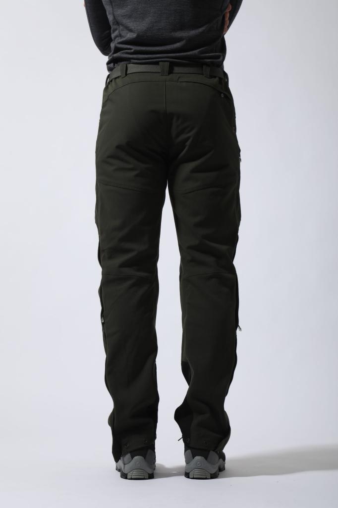 SUPER TERRA PANTS-REG LEG-MERCURY-M pánské kalhoty šedé