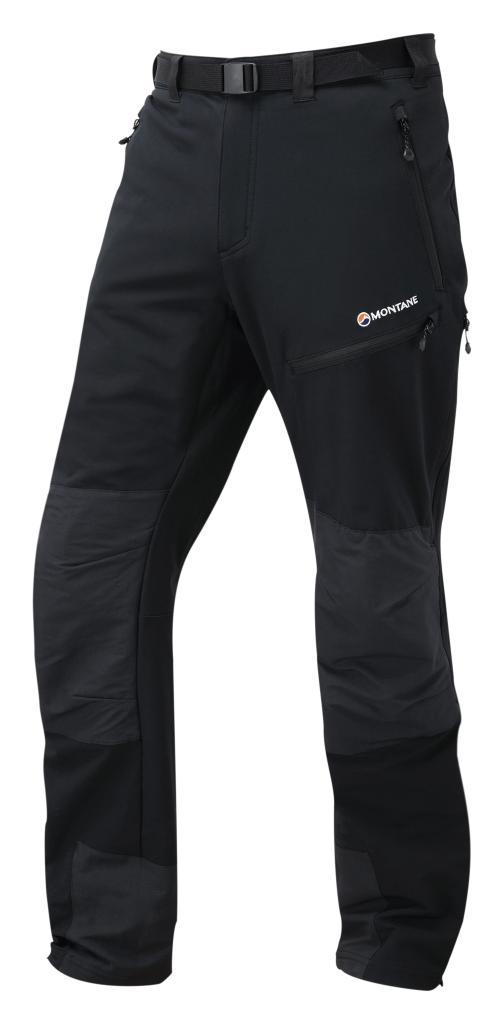 TERRA MISSION PANTS-REG LEG-BLACK-M pánské kalhoty černé