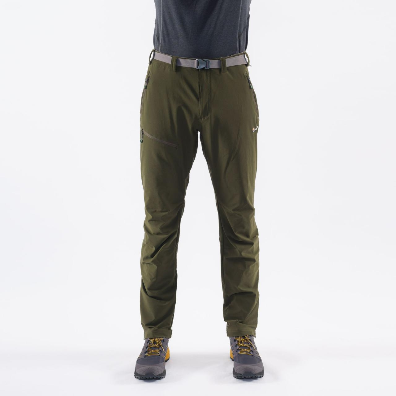 TERRA ROUTE PANTS-REG LEG-OAK GREEN-M pánské kalhoty zelené