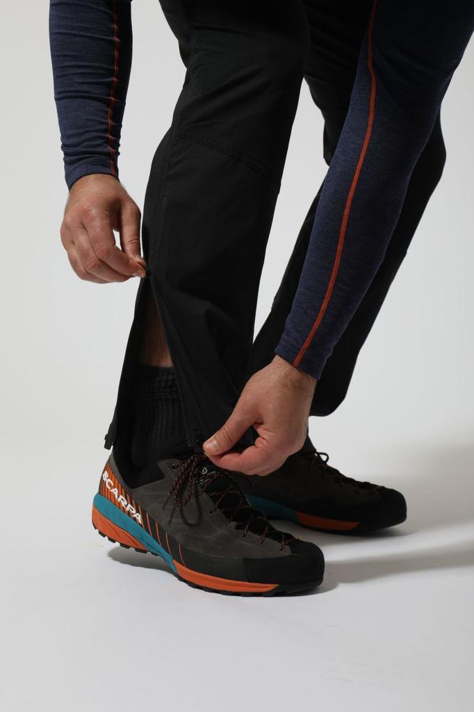 TERRA STRETCH PANTS-REG LEG-BLACK-M pánské kalhoty černé