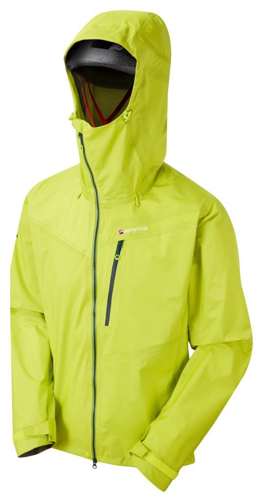 ALPINE SHIFT JKT-CITRUS GREEN-M pánská bunda zelená