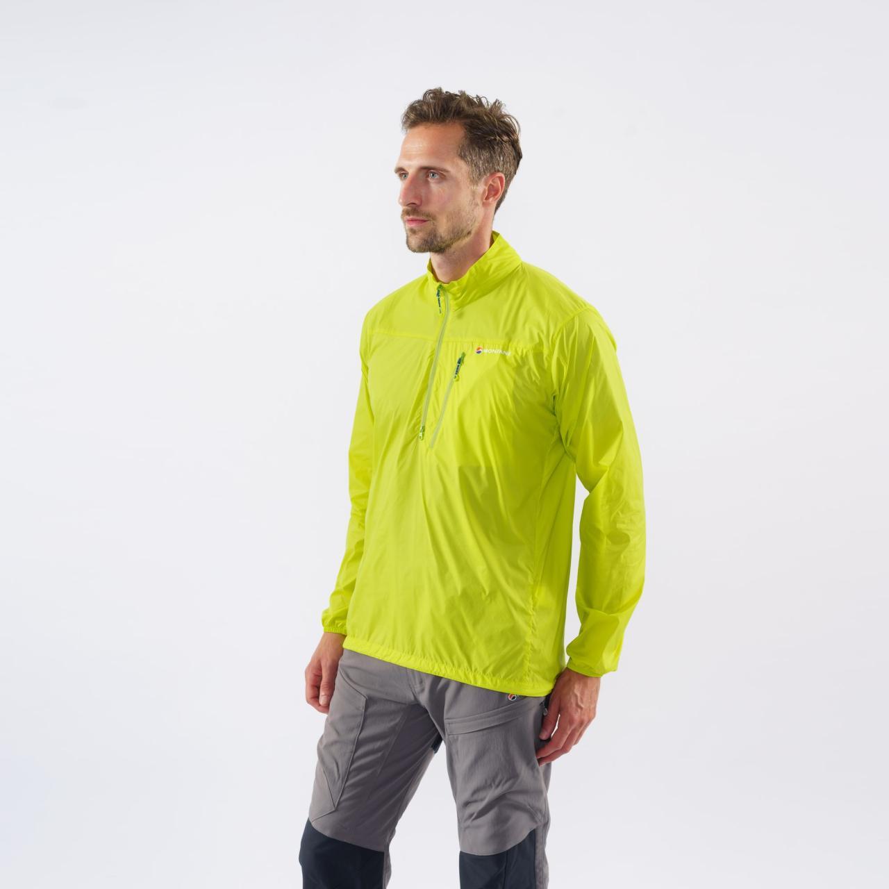 FEATHERLITE SMOCK-CITRUS GREEN-M pánská bunda zelená