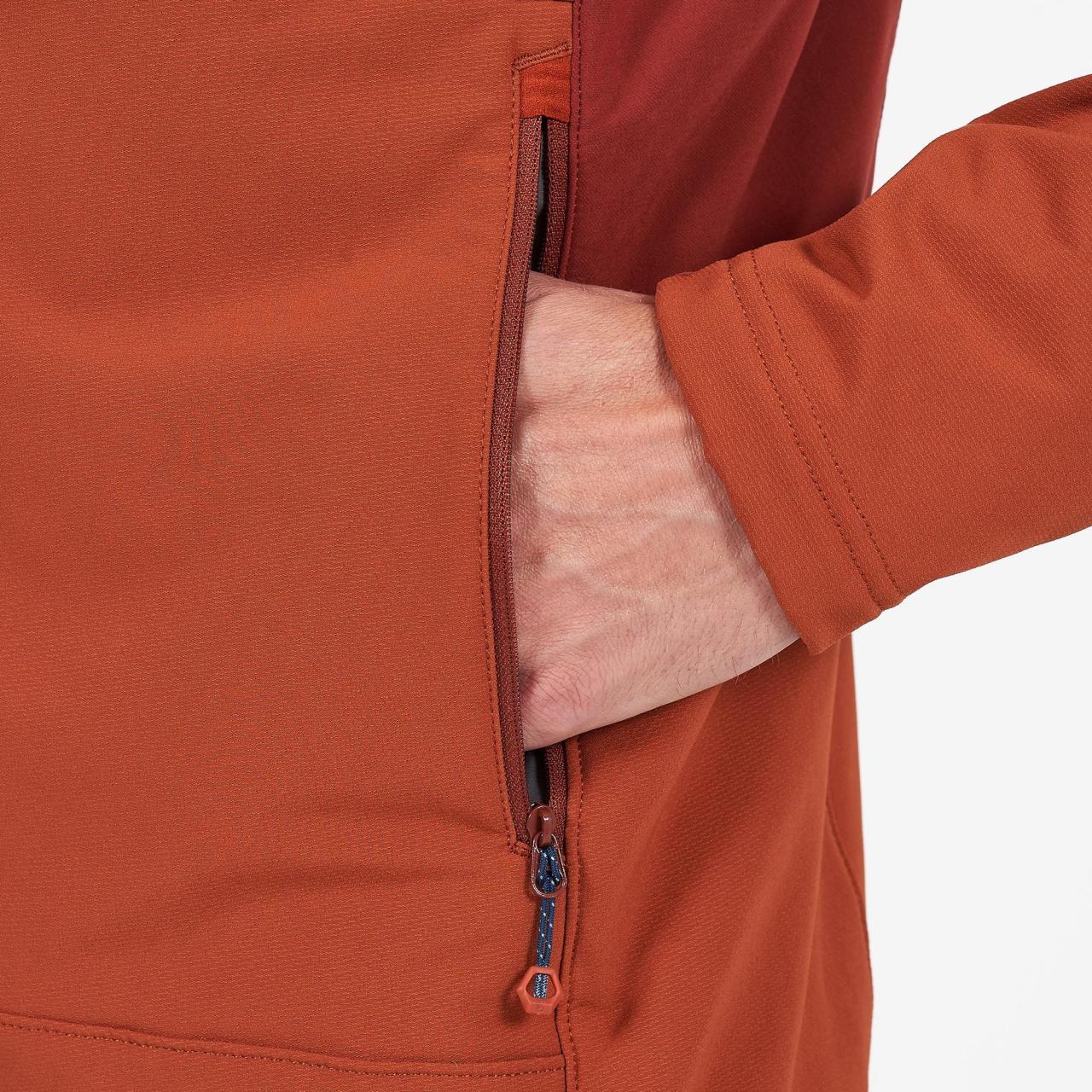 KRYPTON JACKET-OXIDE ORANGE-M pánská bunda rezavá
