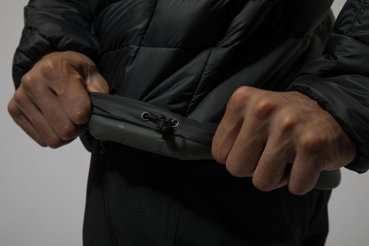 ICARUS LITE JKT-BLACK-S pánská bunda černá