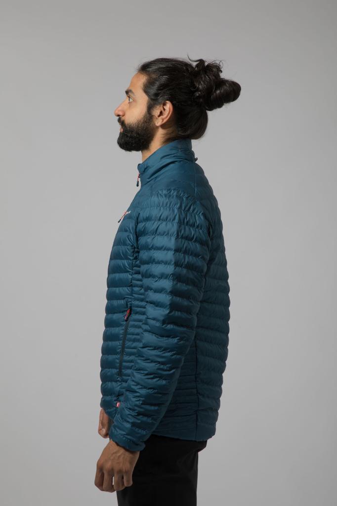 ICARUS MICRO JKT-NARWHAL BLUE-M pánská bunda modrá