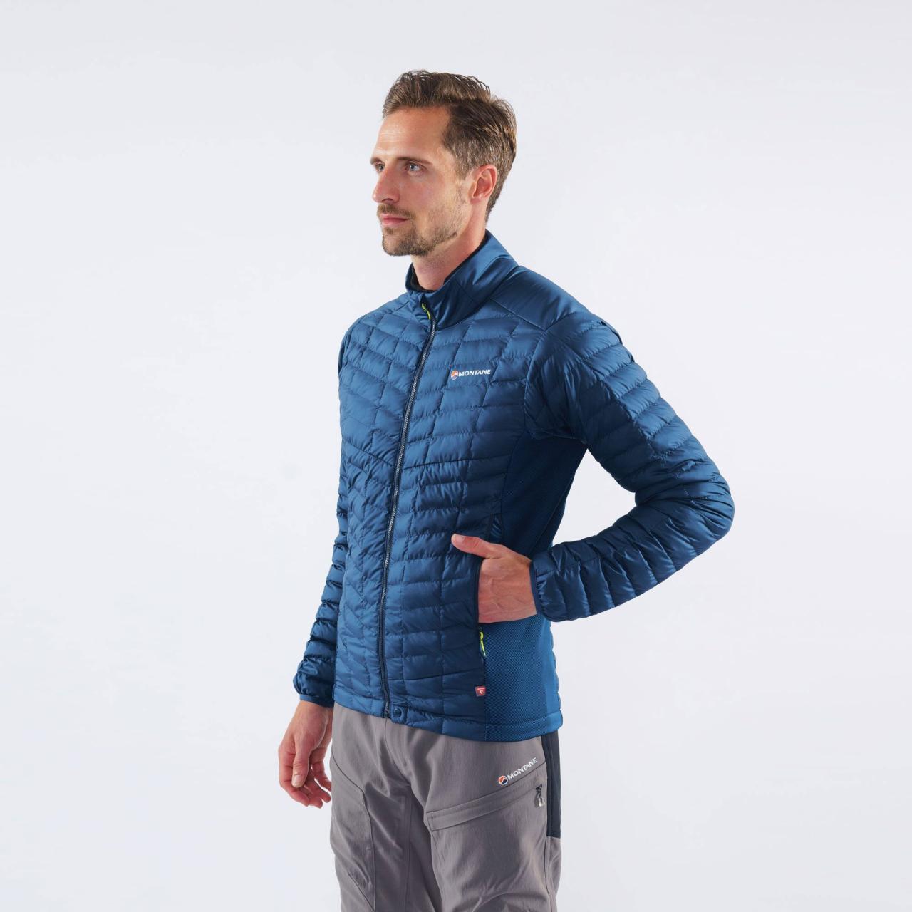 ICARUS STRETCH MICRO JKT-NARWHAL BLUE-M pánská bunda modrá