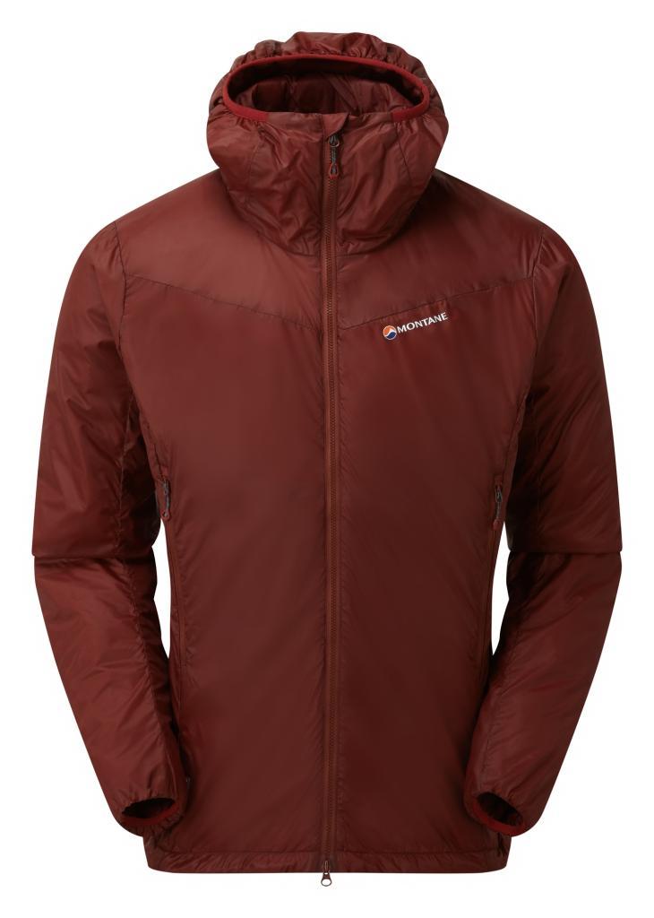 PRISM ULTRA JKT-REDWOOD-M pánská bunda červená