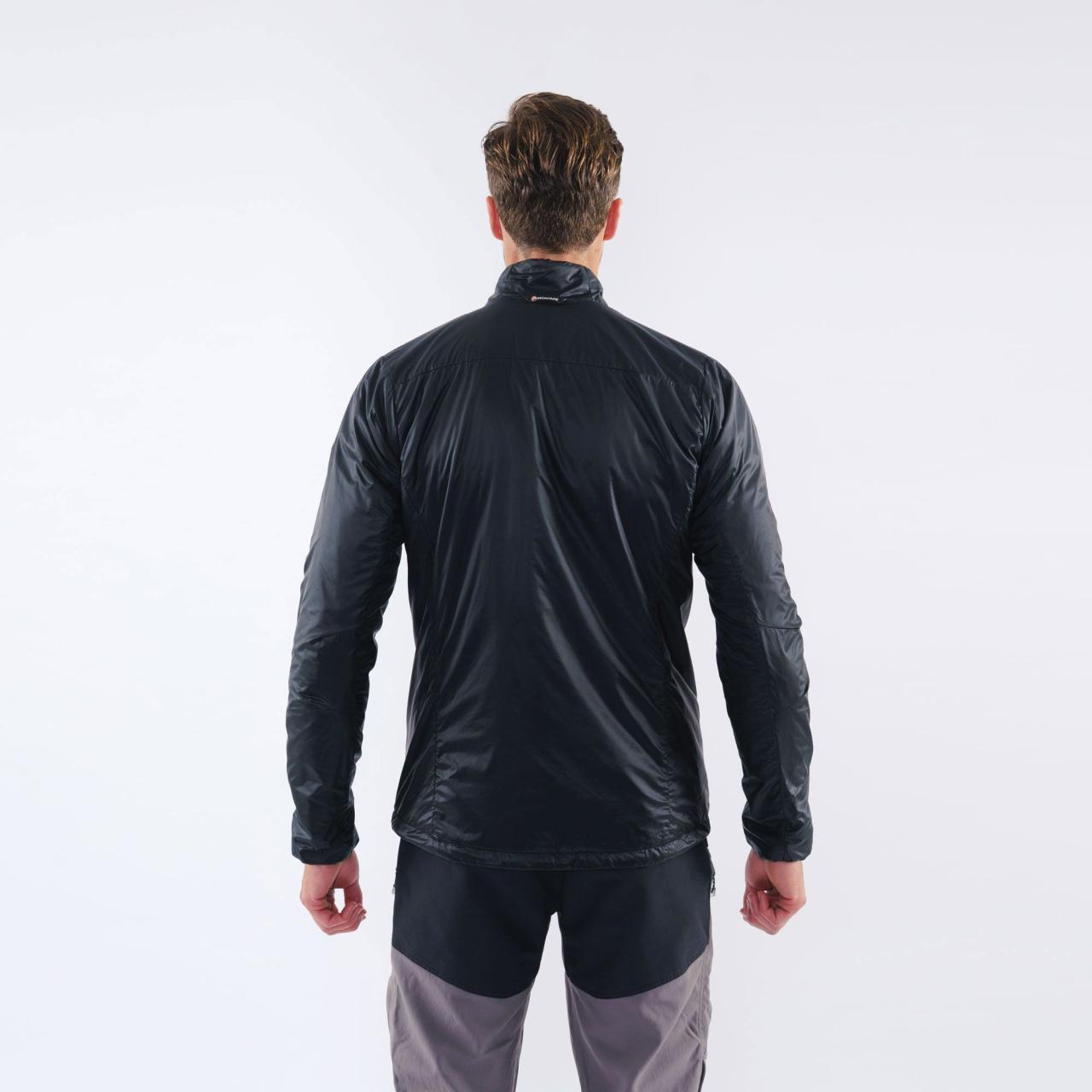 PRISM ULTRA PULL-ON-BLACK-M pánská bunda černá