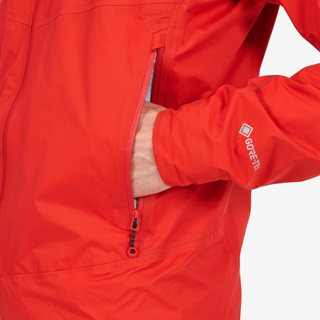 SPINE JACKET-FLAG RED-M pánská bunda červená