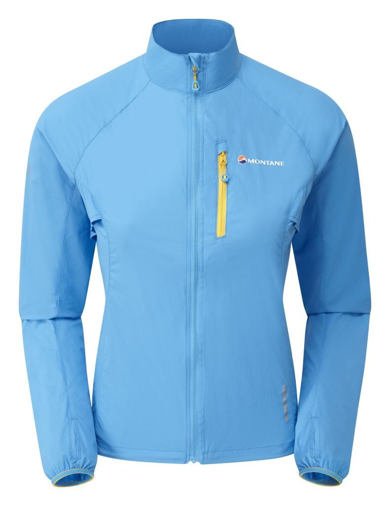 FEM FEATHERLITE TRAIL JKT-CERULEAN BLUE-36 dámská bunda modrá