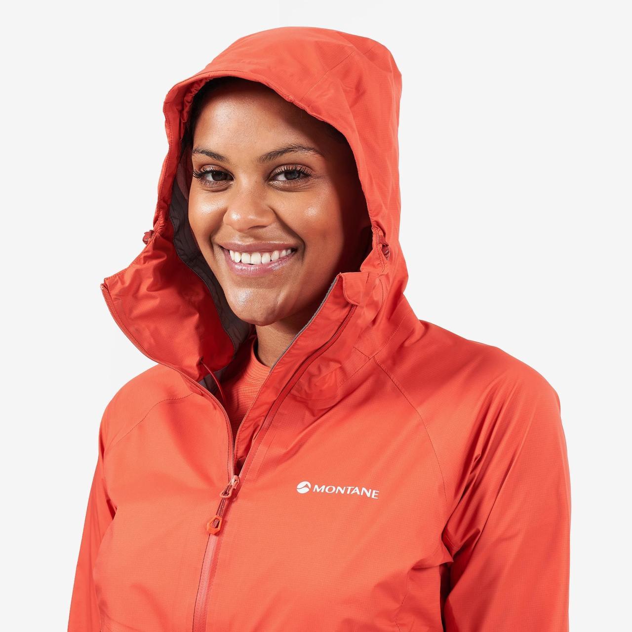 FEM SPINE JACKET-PAPRIKA-36 dámská bunda červená