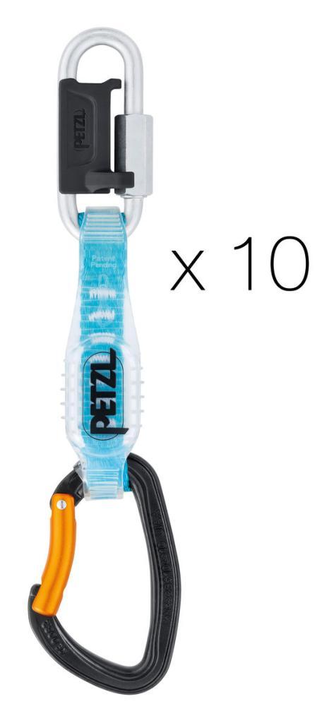 DJINN STEEL AXESS komplet 12 cm - balení 10 ks