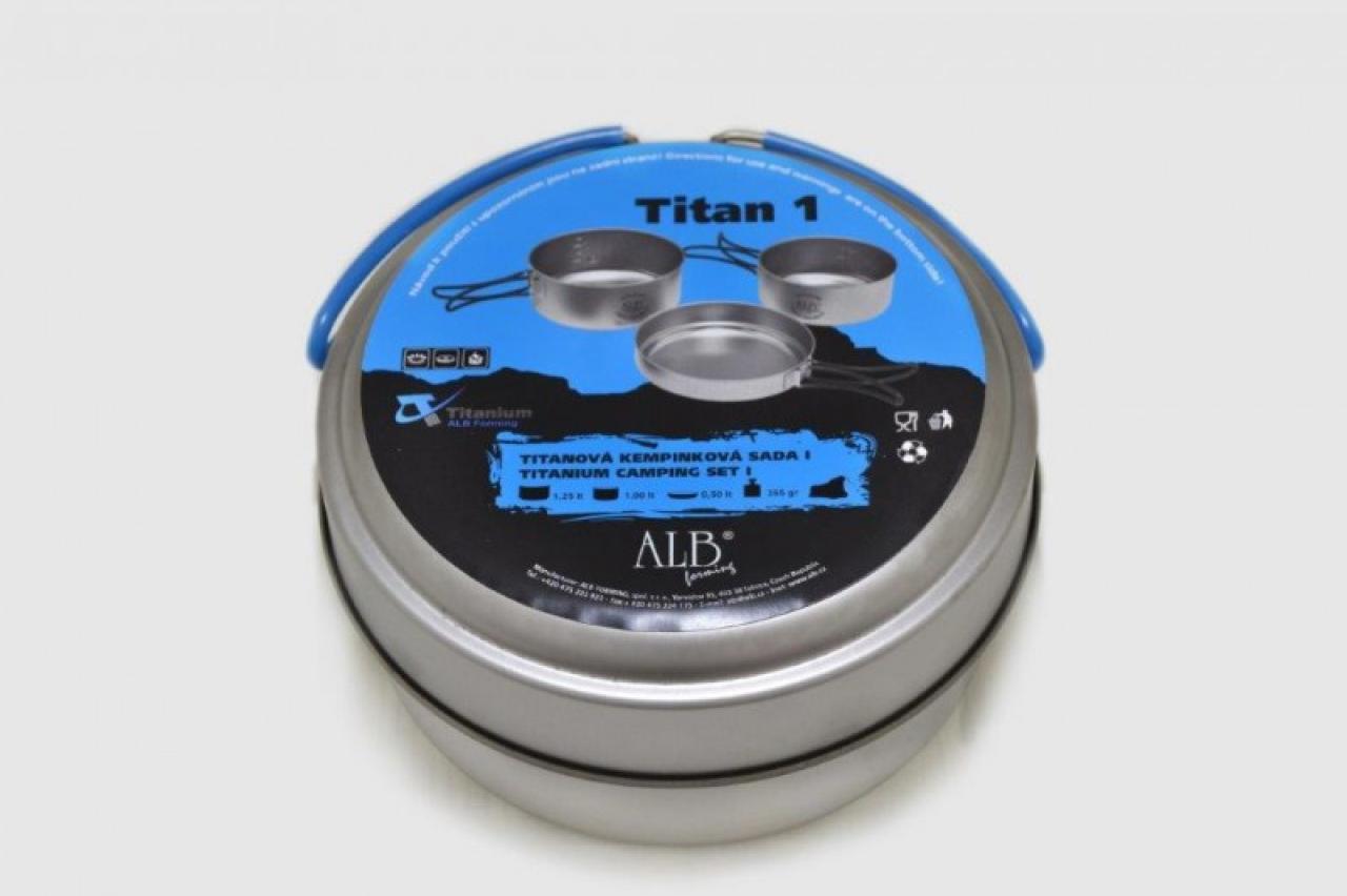 TITAN PRO - Titanová kempingová souprava velká