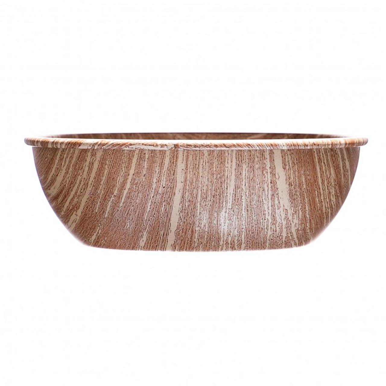 COLLECTION WOOD ČESKÁ MISKA jídelní, antiadhez PTFE, design dřevo