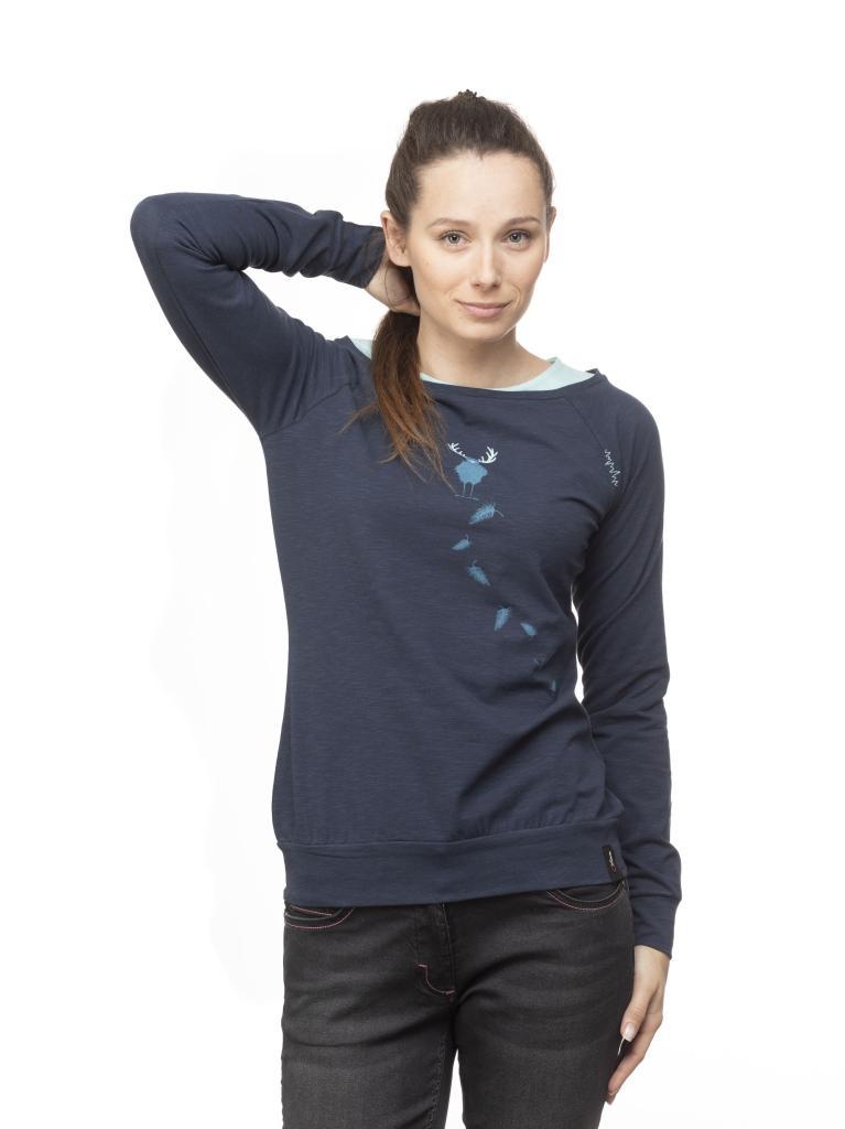 SERLES HIRSCHKRAH-DARK BLUE-32-dámské-triko s dlouhým rukávem-tmavě modré